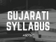 Gujarati Syllabus for Main Examination