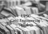 Civil Engineering Syllabus for Main Examination