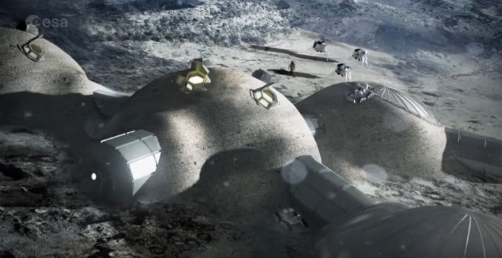 Moon Village: Human outpost on Earth's Natural Satellite, Not a moonbase