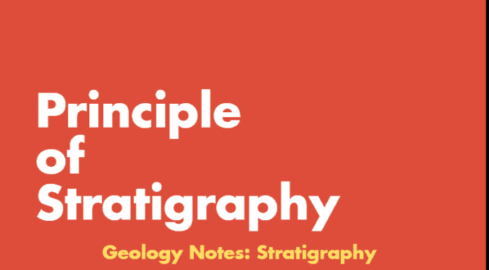 Principle of Stratigraphy Geology Notes