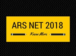 ARS NET 2018 Syllabus, regisration and mock tests