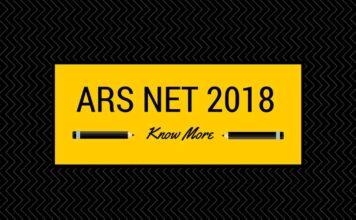 ARS NET 2018 Syllabus, regisration and mock tests