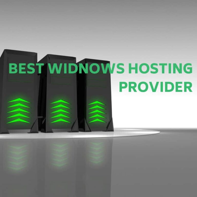 Best Windows Hosting Provider in 2018